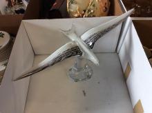 Glass Seagull Sculpture