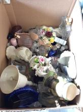 Collection Of Perfume Bottles Box Lot