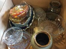 10+ Serving Dishes & Jar Box Lot