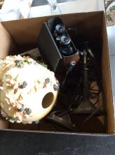 Bushnell Binoculars & Misc Item Box Lot