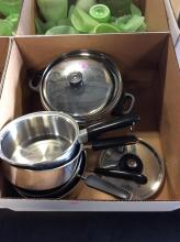 Stainless Steel Cookware Box Lot