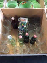 Assorted Glassware & Coke Collectable Box Lot