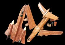 20th Century Wooden Model Planes