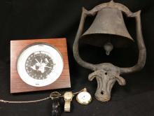 20th C. World Clock, Pocket Watch