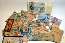 Vintage Foreign Currency
