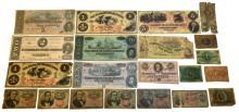 Circa 1860s Confederate Currency