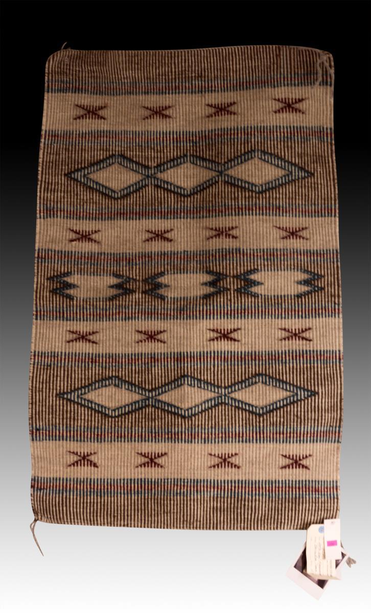 Genuine Navajo Indian Crystal Style Rug
