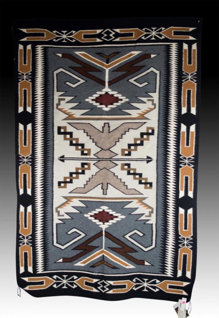 Genuine Navajo Indian Teec Nos Pos Area Rug