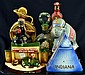 Decanter Figural Bottles, Indiana, Bertha Elephant