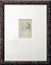 Etching in the Manner of James Whistler