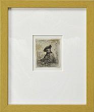 After Rembrandt van Rijn Etching,
