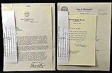 (7) Pcs. Vintage Minnesota Interest Letters