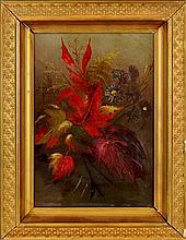 Antique Floral Oil Painting #2