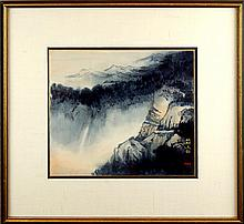 Diana Kan Landscape Painting