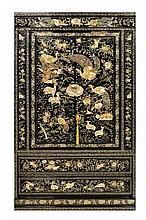 #2 Abalone, MOP & Black Lacquer Inlay Cabinet
