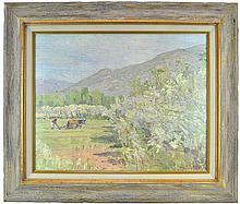 Framed Landscape Giclee Signed Phillips