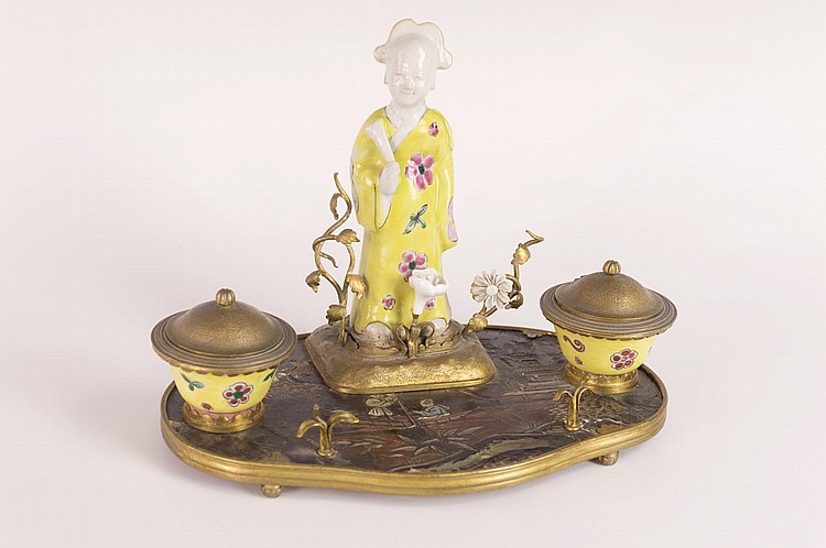 Chinoiserie Ink Stand
