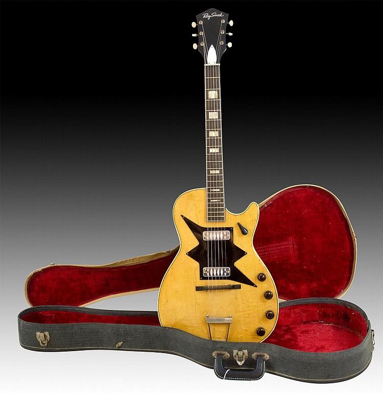 1961 Harmony Roy Smeck Stratotone