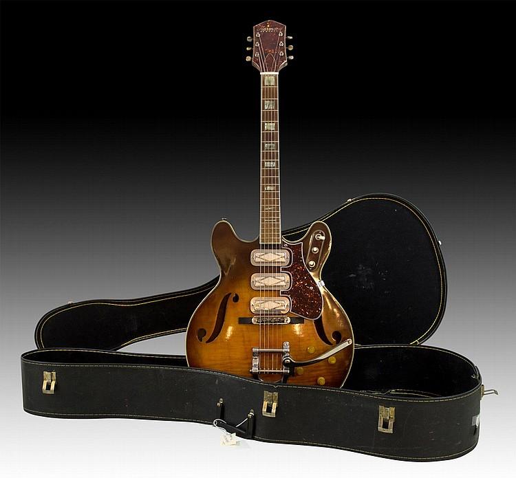 1968 Harmony Heath Hollowbody Guitar H75