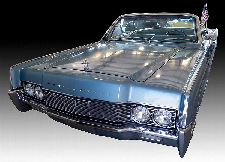 1967 Lincoln Continental 4Dr Convertible