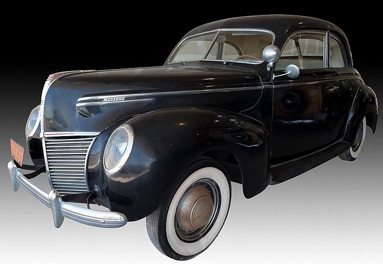 1939 Mercury V8 Sedan Coupe, 2-Door