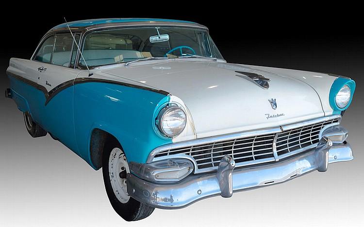 1956 Ford Fairlane Victoria 2-Door Coupe