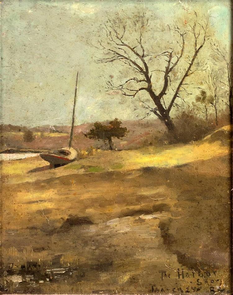 Framed 1984 Oil Painting