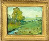 Signed Fernando Carter (1855-1931) Oil Painting