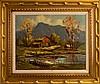 Ellwood Morris (1848-1940) Landscape Painting