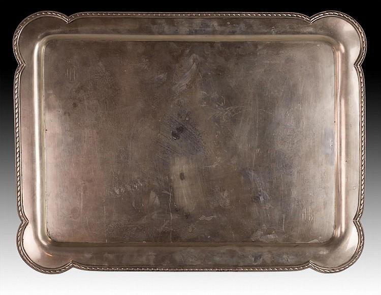 Marked European Silver Tray, LATZKO