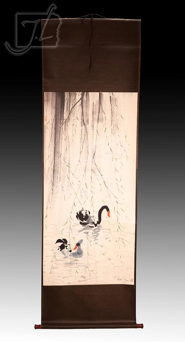 Guanzhong Wu (1919-2010) Scroll Painting