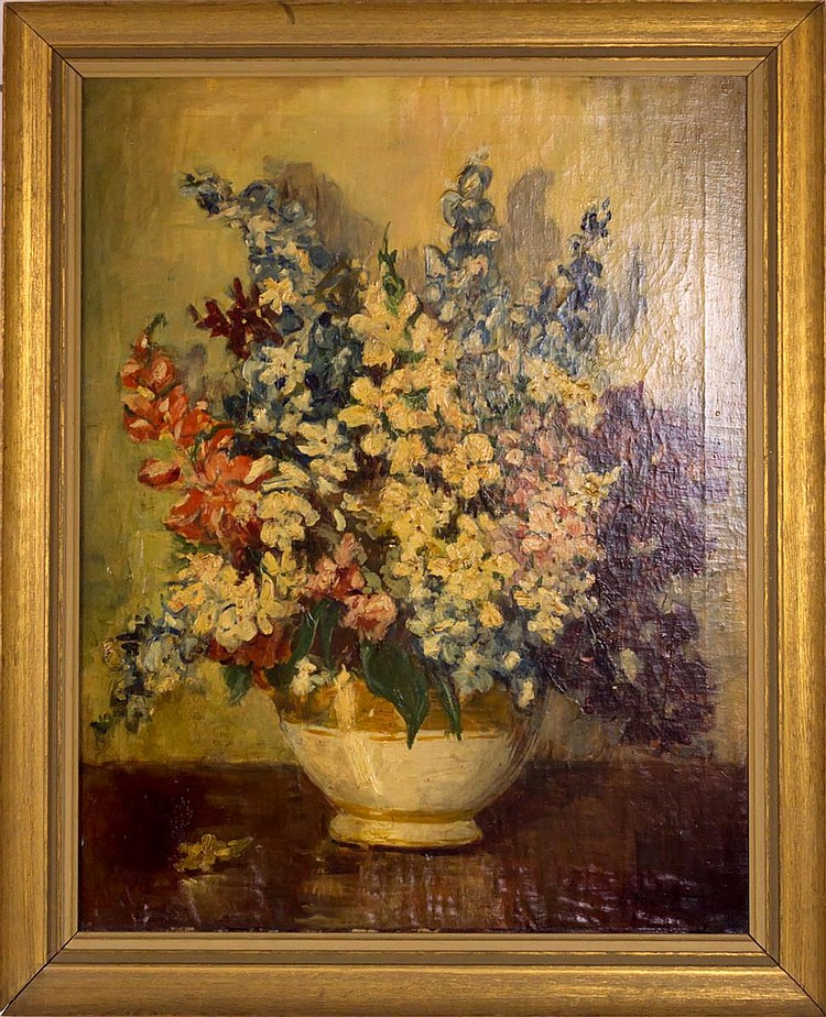 Irving Ramsey Wiles Still Life Painting