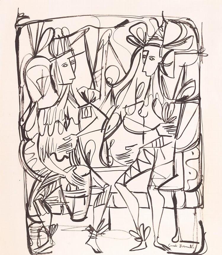 Cundo Bermudez  Ink Art