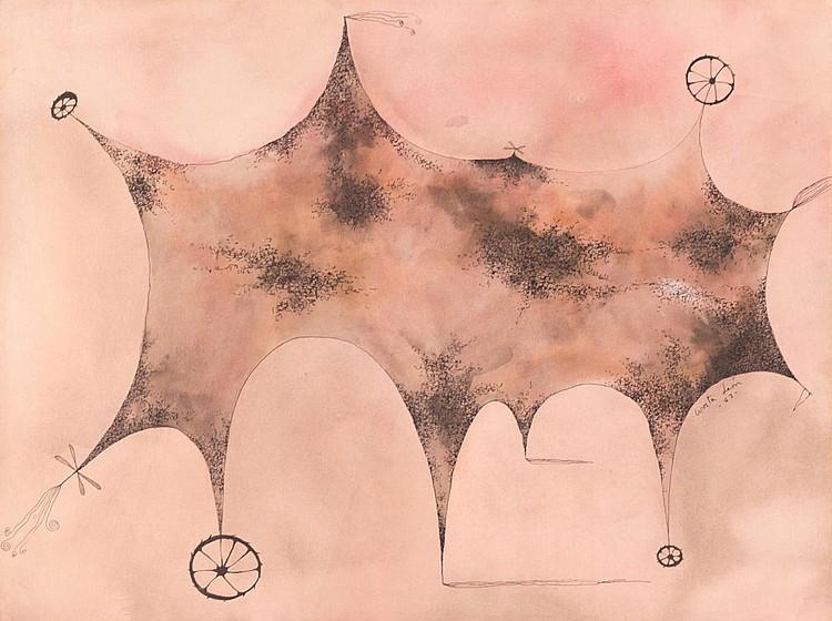 Angel Acosta Leon Watercolor & Ink Art