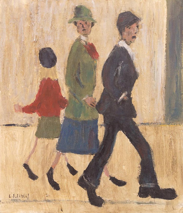 Laurence Stephen Lowry Oil on Board