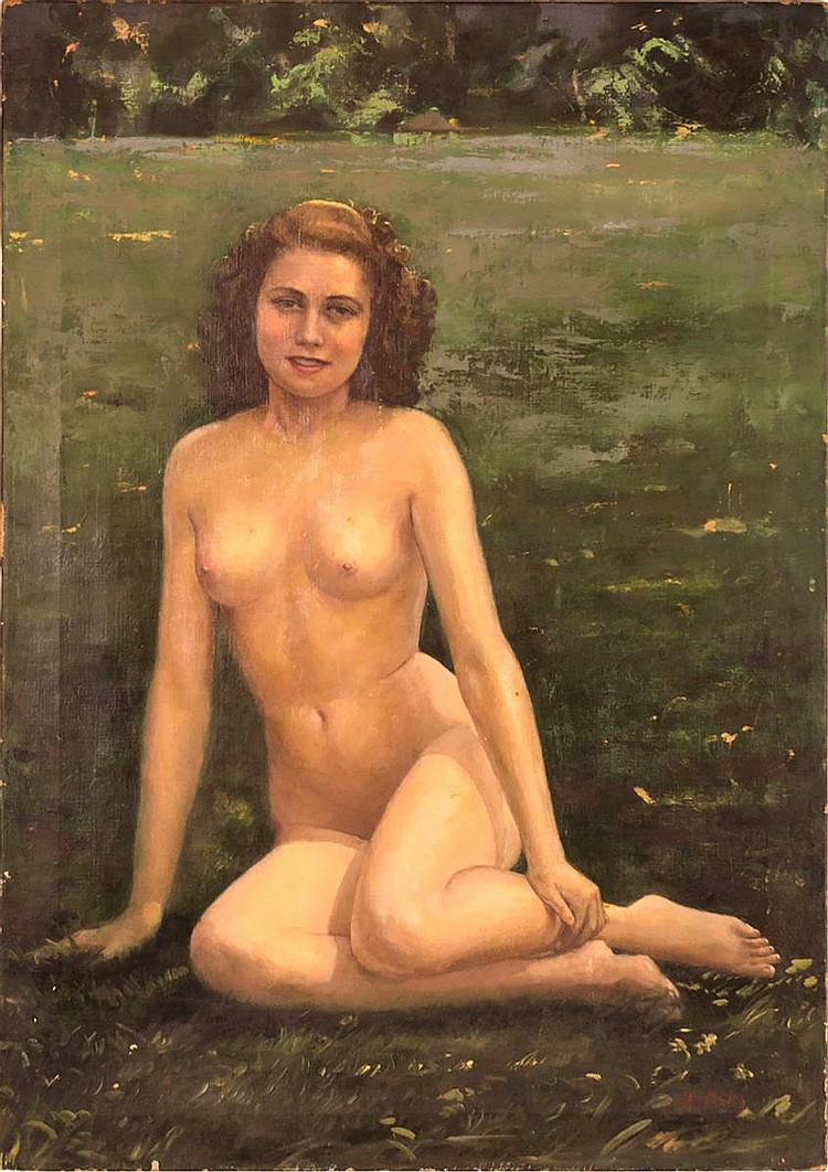 Anton Kozakiewicz Oil Painting, Female Nude
