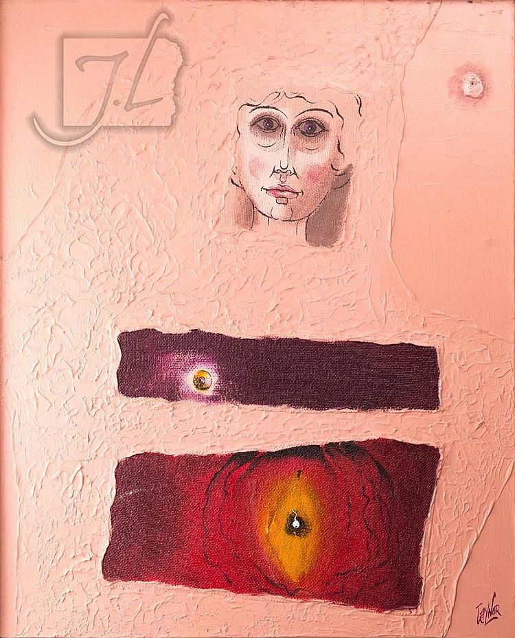 Harold Laynor (1922-1991) Nude Portrait