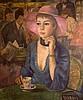 Francois Gall (1912 - 1987) Female Portrait