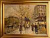 Antoine Blanchard (c.1910 - 1988) Street Scene