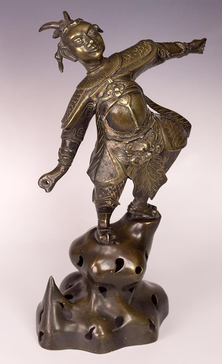 Satyr Bronze Sculpture