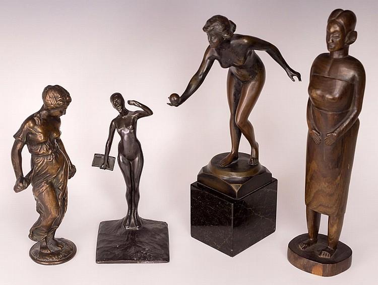 Lot of 4 Sculptures