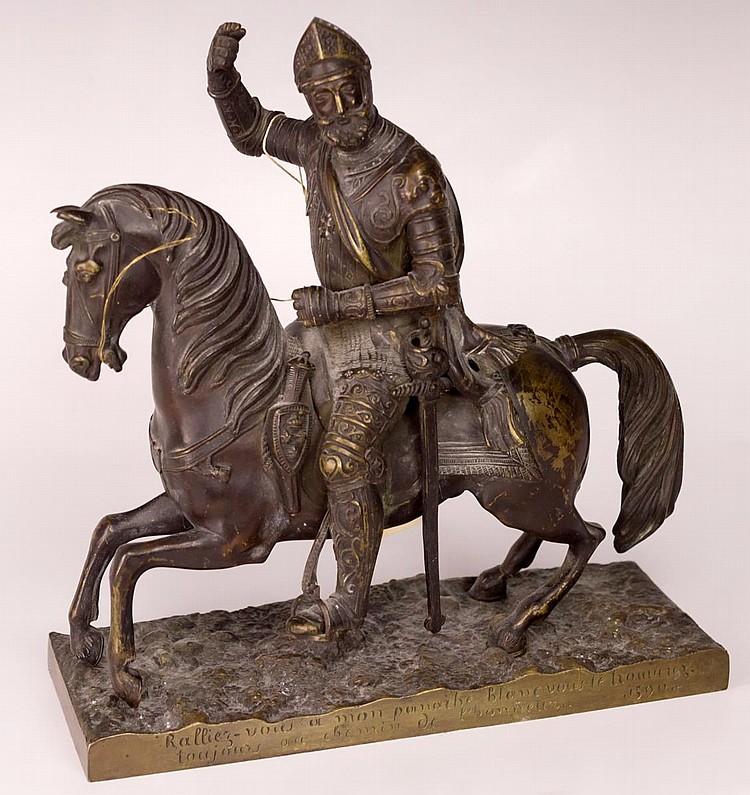Bronze Statue of Henry IV