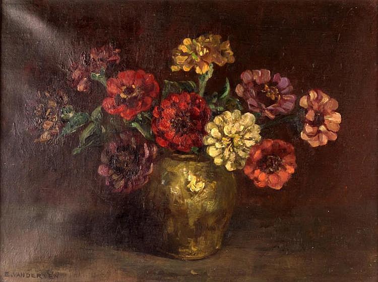 Emanuel Van Der Ven (1866-1944) Still Life