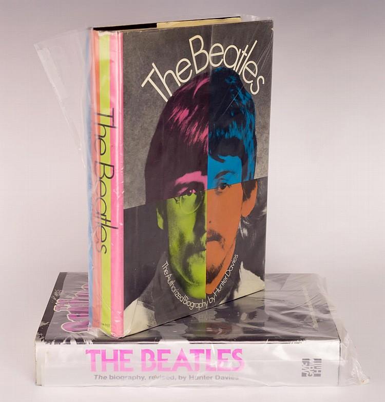 Lot of 2 Beatles Hardback Books