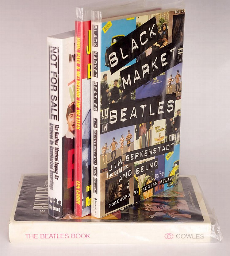 Lot of 4 Beatles Books