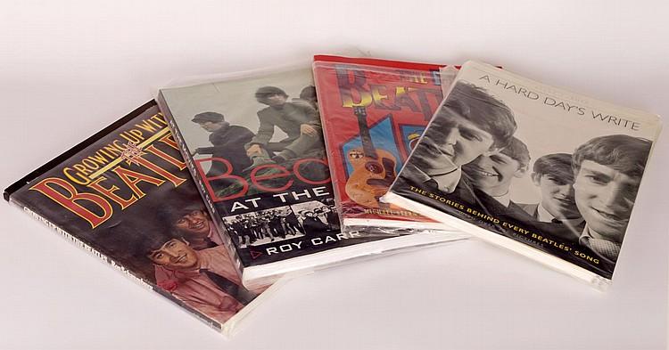 Lot of 4 Beatles Books