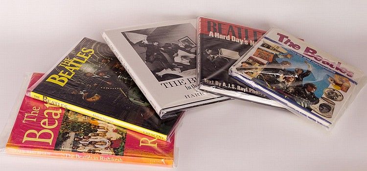 Lot of 5 Beatles Books