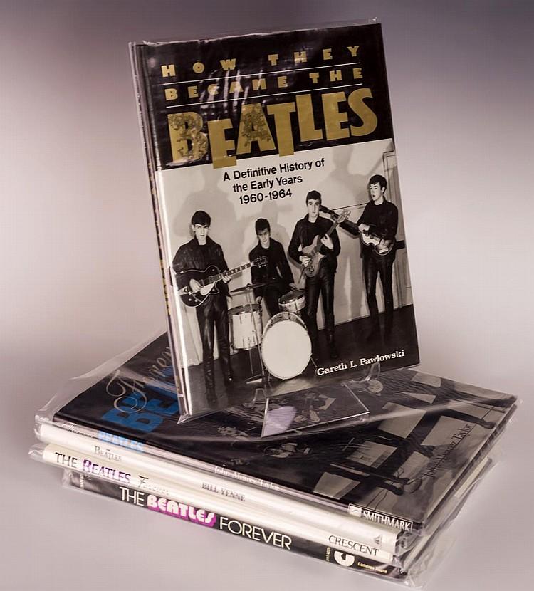 Lot of 5 Hardback Beatles Books