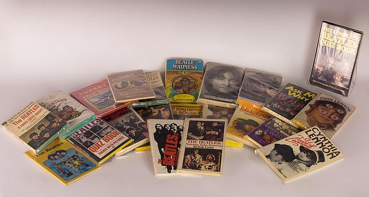 Lot of 22 Beatles Books