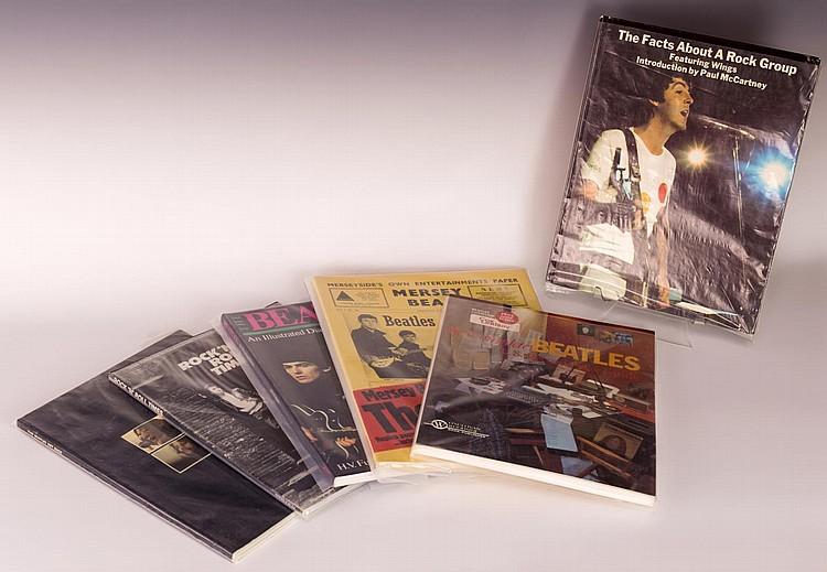Lot of 6 Beatles Books